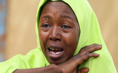 ボコ・ハラーム攻撃後に110人のナイジェリアの少女が行方不明に