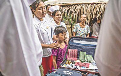 子供の間でのハンセン病の伝染に焦点を当てる