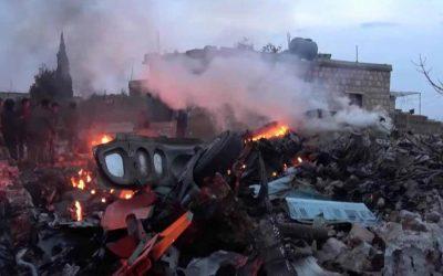 Idlibの大規模な空爆で30人の武装者が命を失う