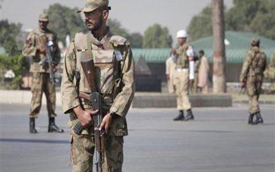 パキスタン兵11人が殺害された自爆テロ