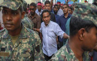 モルディブの野党、インドの介入を要求