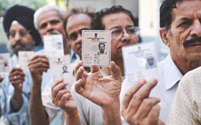 インドにおける同時世論調査