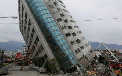 台湾の地震が建物の洞窟で6人を殺した