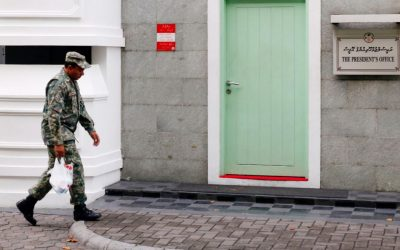 モルディブの政治危機の展開
