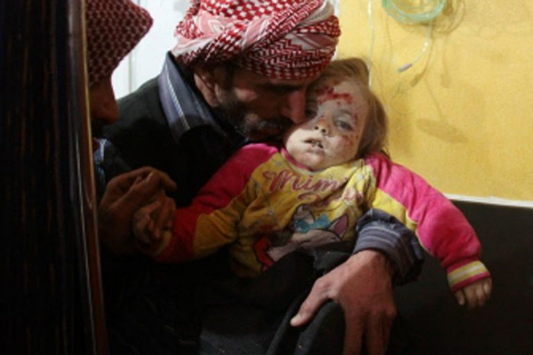 シリアはGhoutaで6人の民間人を殺す