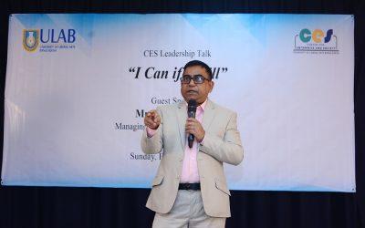モハン・アハメドは「私ができれば」というリーダーシップ・トーク・シリーズで講演する