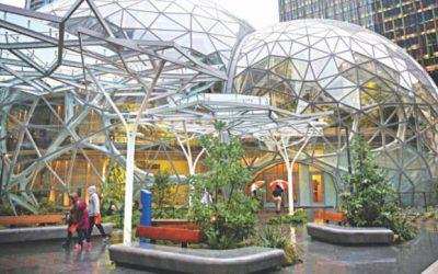 Amazon、シアトルに熱帯雨林を開く