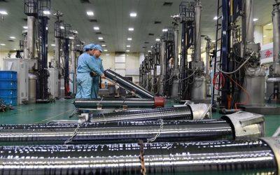 中国の5年間の産業設備稼働率