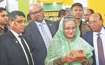 首相、茶の多目的利用を提案