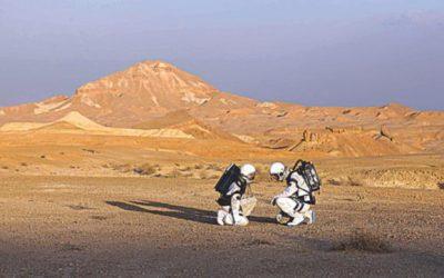 ネゲブ砂漠での偽の火星の使命