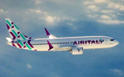 MeridianaがAir Italyになる