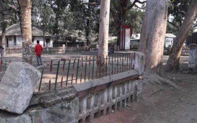 完全に無視されたLalmonirhat dist Shaheed Minar