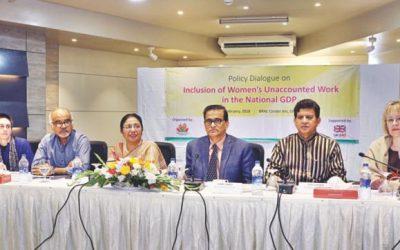 GDPへの女性の貢献を認識する