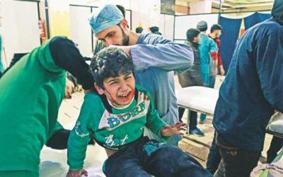 UNSC、30日間シリア停戦要求