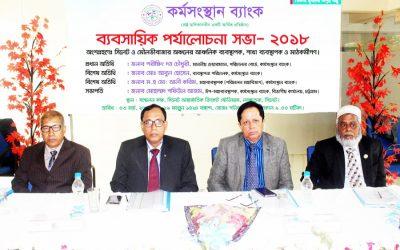 Karmasangsthan銀行レビュー会合を開催2018