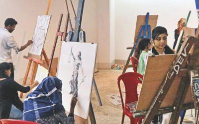 Ctgで開催された「尊厳を通した平等」のアートキャンプ