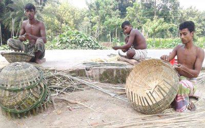 パブナ竹工芸職人がローン施設を探しています