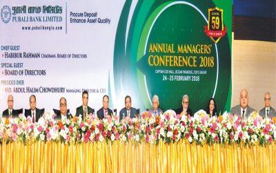 Pubali Bankの年間経営者会議2018年