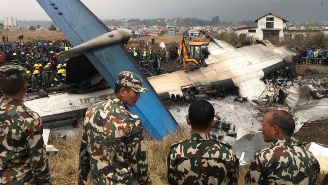 米バングラ航空機のクラッシュ:コントロールルームはダッカ空港にオープン