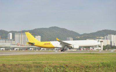 DHL Express、アジア太平洋航空ネットワークにA330-300を導入