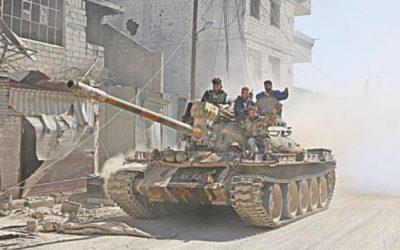 シリアの戦争は今年で8年を迎えます