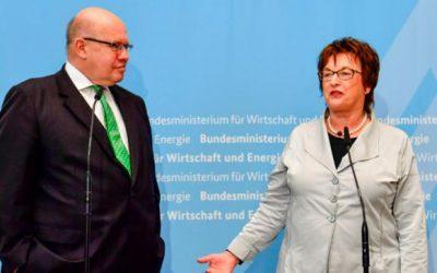 ドイツの経済大臣、貿易交渉のために米国に旅行する