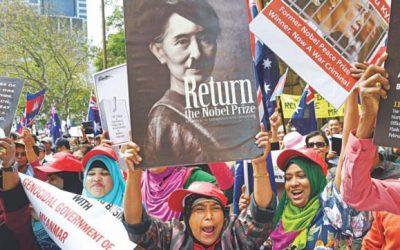 人道に対する罪:オーストラリアの弁護士がスー・キーを訴える