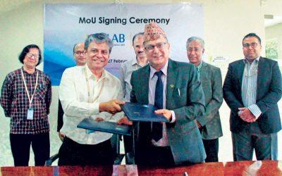 ネパールのSurkhetの中西部大学とULABがMoUに署名