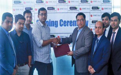 1つの銀行がDaraz Bangladesh LtdとMOUを締結