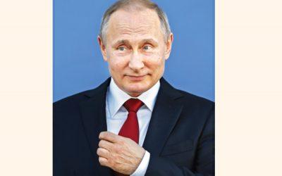 プーチン大統領はロシアの舵取りでさらに6年間を確保