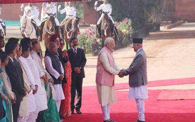インド、ネパール、より緊密な関係に移行