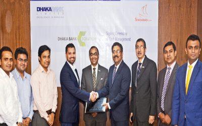 ダッカ銀行、現金管理ソリューションをSindabad.comに提供