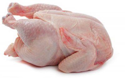 安全な鶏肉への押しつけ