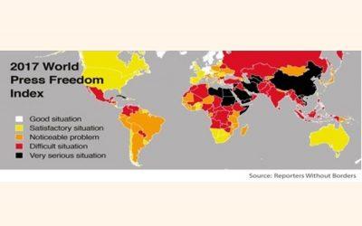 権威主義的な政府はプレスの自由を握る