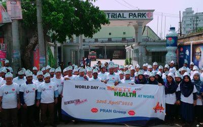 PRAN-RFLは、労働安全衛生の世界の日を守ります