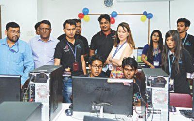 AIUBはサイバーゲームコンテストを開催