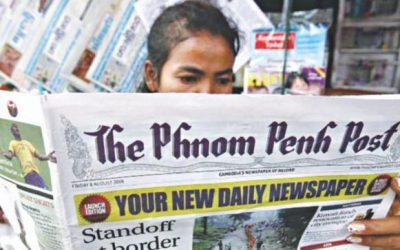 カンボジアの「最後に独立した」新聞販売