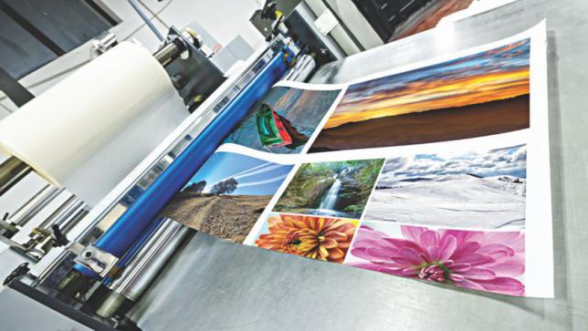 印刷された写真のカムバック