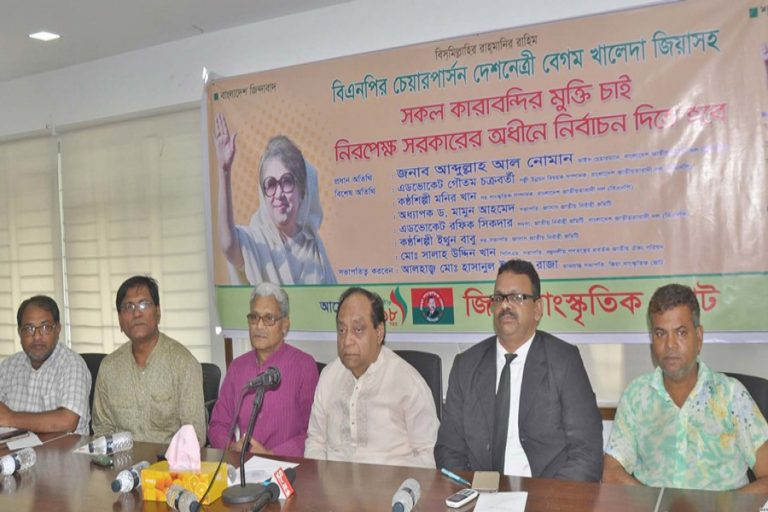 BNP副議長のAbdullah Al Nomanがディスカッションで語った