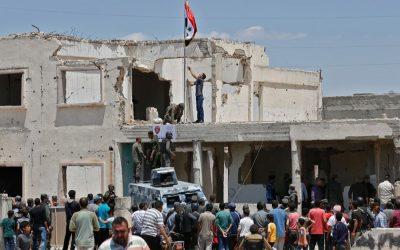 シリア政府は中部地域の完全統制を再開