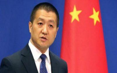 中国、キム・トランプ協議が計画通り進展することを期待
