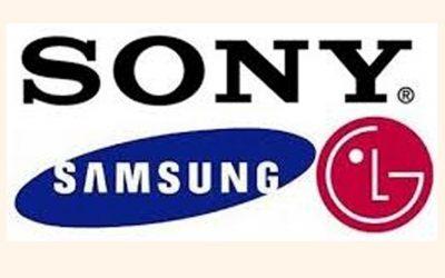 サムスンはソニー、LGはプレミアムテレビ市場でLGの背後にある