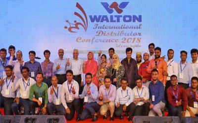 ウォルトン本社での4日間の国際会議の開会式