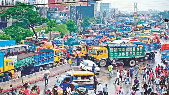 Dhaka-Ctgハイウェイ:テールバック、苦しみにはレットアップがありません