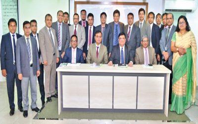Modhumoti Bankのビジネスレビューミーティング
