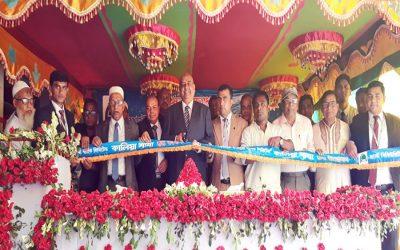 最初のセキュリティのマネージングディレクターIslami Bank Limited Syed Waseque Md AliがKalia支店を開設