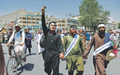 戦争に疲れたアフガニスタン人