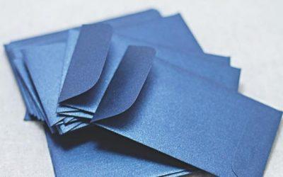 青い封筒の秘密を失った