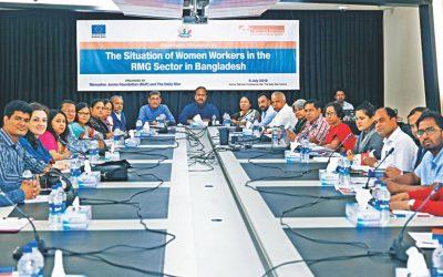 女性の衣服労働者にもっと投資する