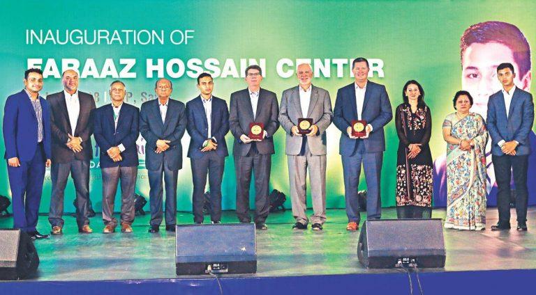 CRPでFaraaz Hossain Centerを立ち上げた